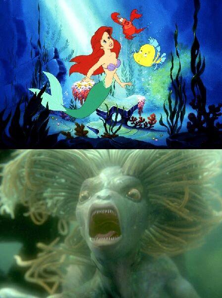 Ariel mermaid and hogwarts merfolk.jpg