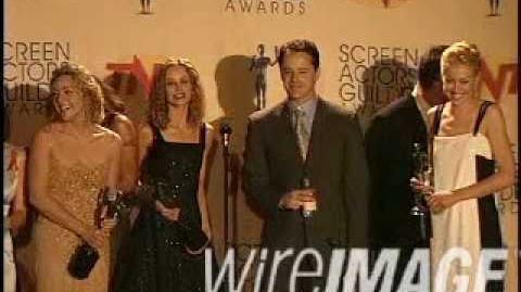 Portia De Rossi SAG awards 1999 Ally Mcbeal Win