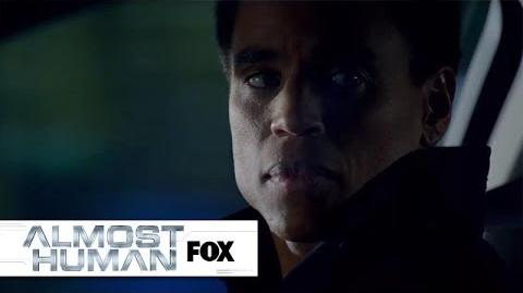 Kennex Remembers His Least Favorite Dorian Moments ALMOST HUMAN FOX BROADCASTING