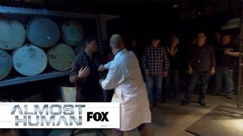 "Behind The Scenes ""Beholder"" ALMOST HUMAN FOX BROADCASTING"
