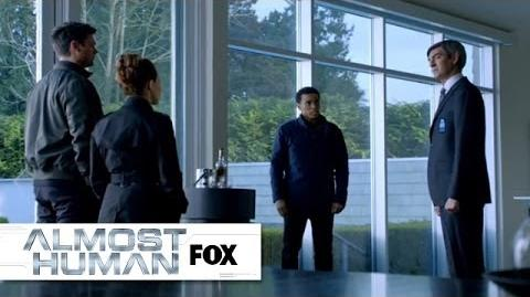 """Smart Home Interrogation from """"Disrupt"""" ALMOST HUMAN FOX BROADCASTING"""