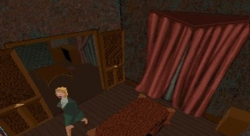 Jeremy's Study as seen in-game.