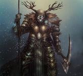 Deer warrior by josearias-d6bvjjp