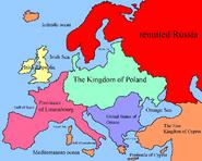 Crazy alternate Europe