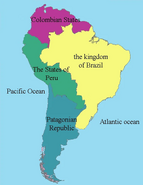 The new South American continent