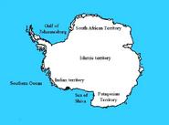 Antarctic colonies