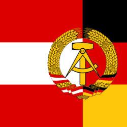 Austro-German Democratic Republic (Stars and Sickles)