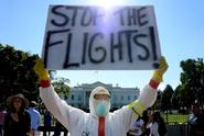 Ebola flight ban