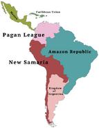 Puritan South America