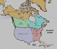 Map of Puritan America