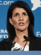 Nikki Haley at the federalist society (Cropped)