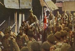 Japanese soldiers in China.