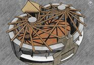 Reciproc roof