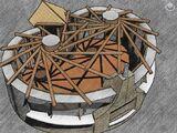 Reciprokális tető