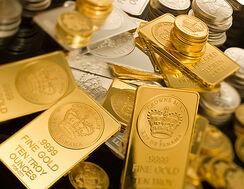gold arany érme tömb