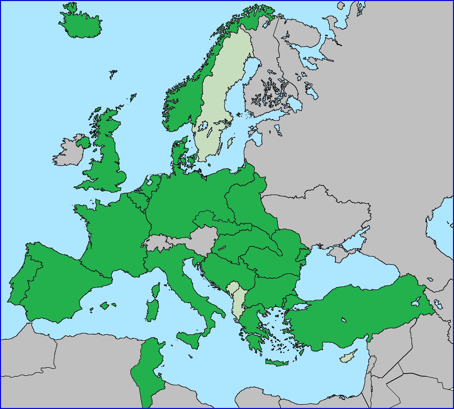 Alianzas militares actuales (Alemania Superpotencia)