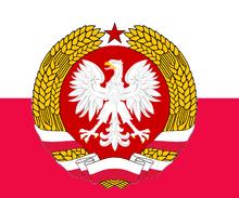 Flagge Volksrepublik Polen (Ostpolen).png