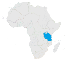 Goldia en África