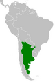 Map of Argentina (CWo)