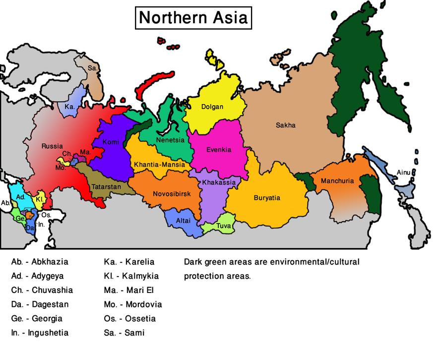 Northern Asia (Vegetarian World)