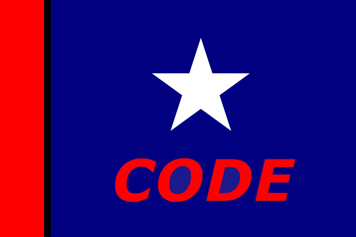 Bandera de la CODE (CNS).png