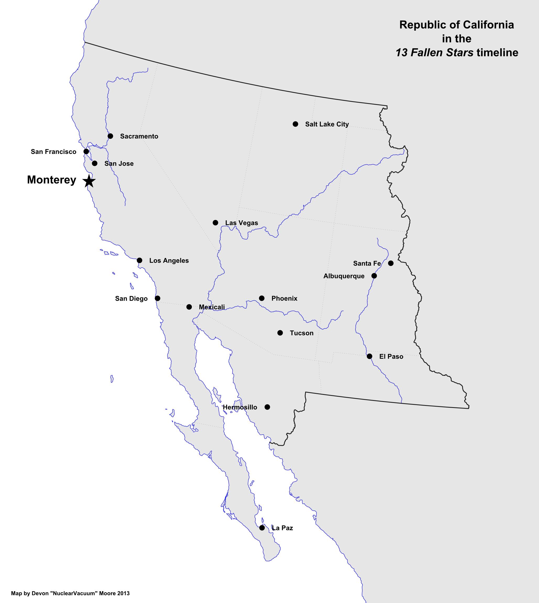 Map of California (13 Fallen Stars).png