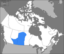 Location of Canada