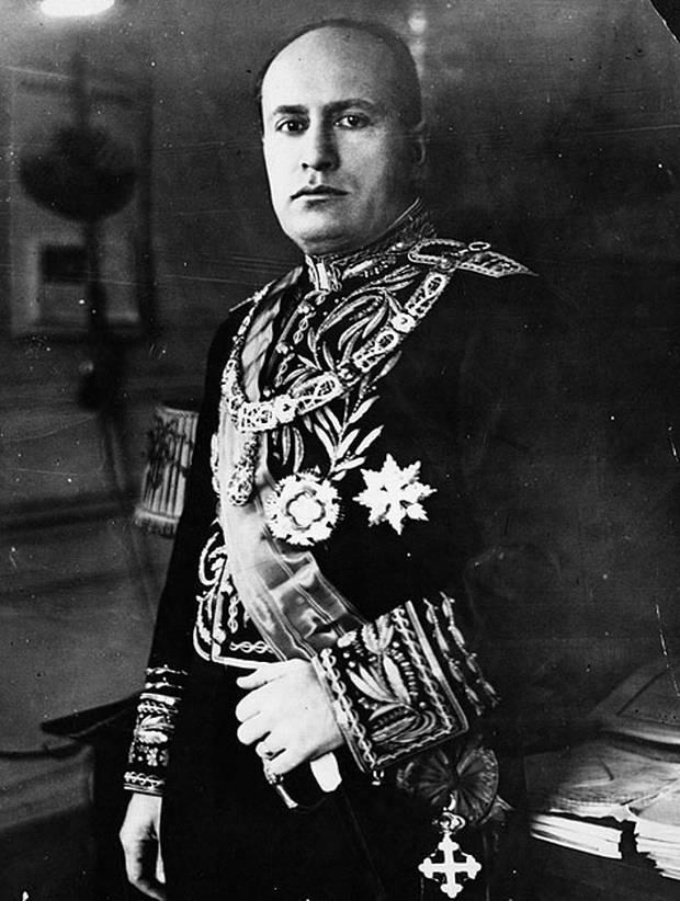Benito Mussolini (Utopía Nazi)