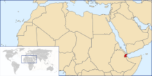 Location of Republic of Djibouti