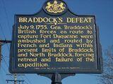 Braddock's Expedition (Washington Shot at Murdering Town!