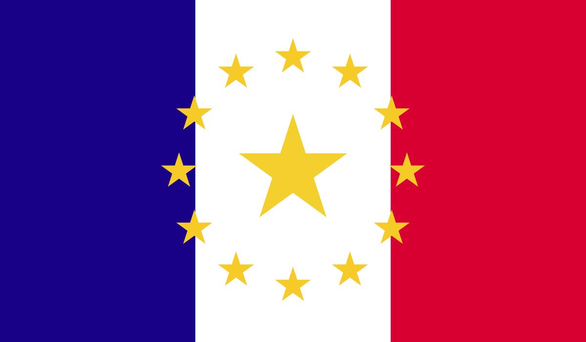 Flag of Paris (Divided France).png