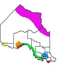 Location of Sudbury