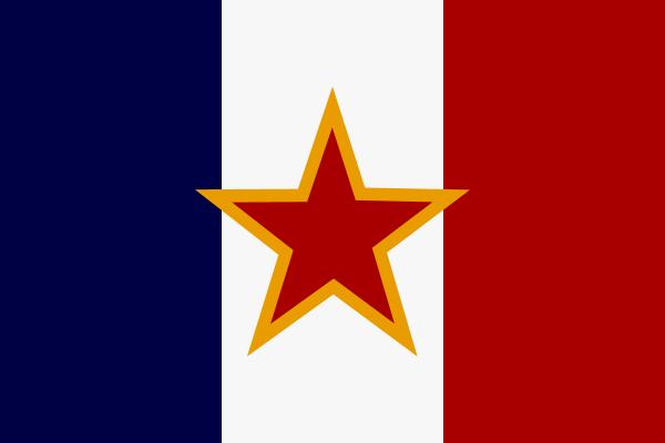 Flag of Socialist France.png