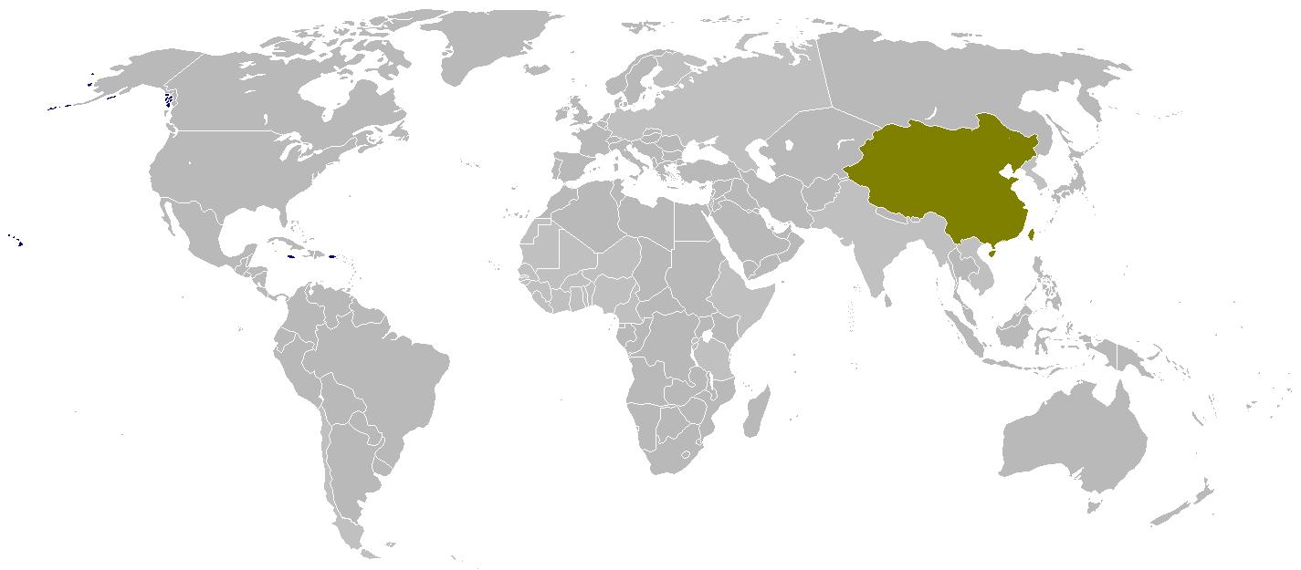 China (Soviet Defeat)