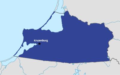 Kaliningrad Oblast Map (Russification of Kaliningrad Oblast).png