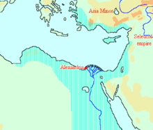 Location of Ptolemaic Egypt