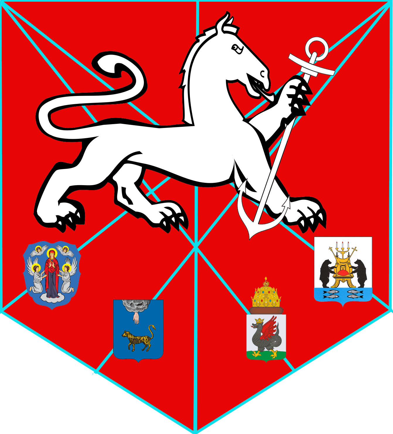 Grand Russian Federation (Principia Moderni II Map Game)