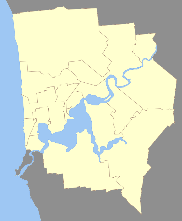 List of counties in the Territory of Swan (Joan of What?)