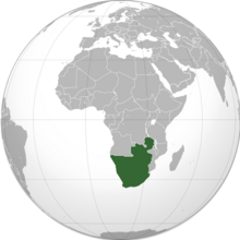 Location South Africa