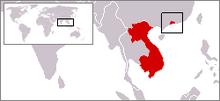 Location of Kwang-Chou-Wan