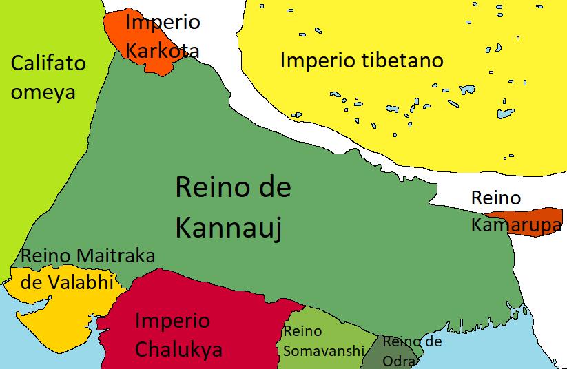 Imperio Gurjara-Pretihara (Derrota en Poitiers)