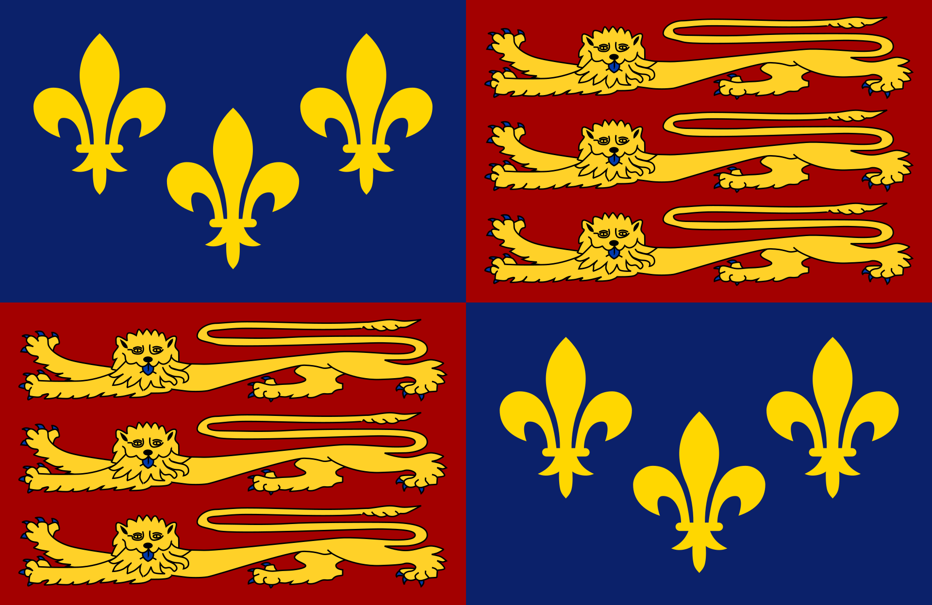 Kingdom of England (The English Conquest)