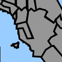Location of Pisa