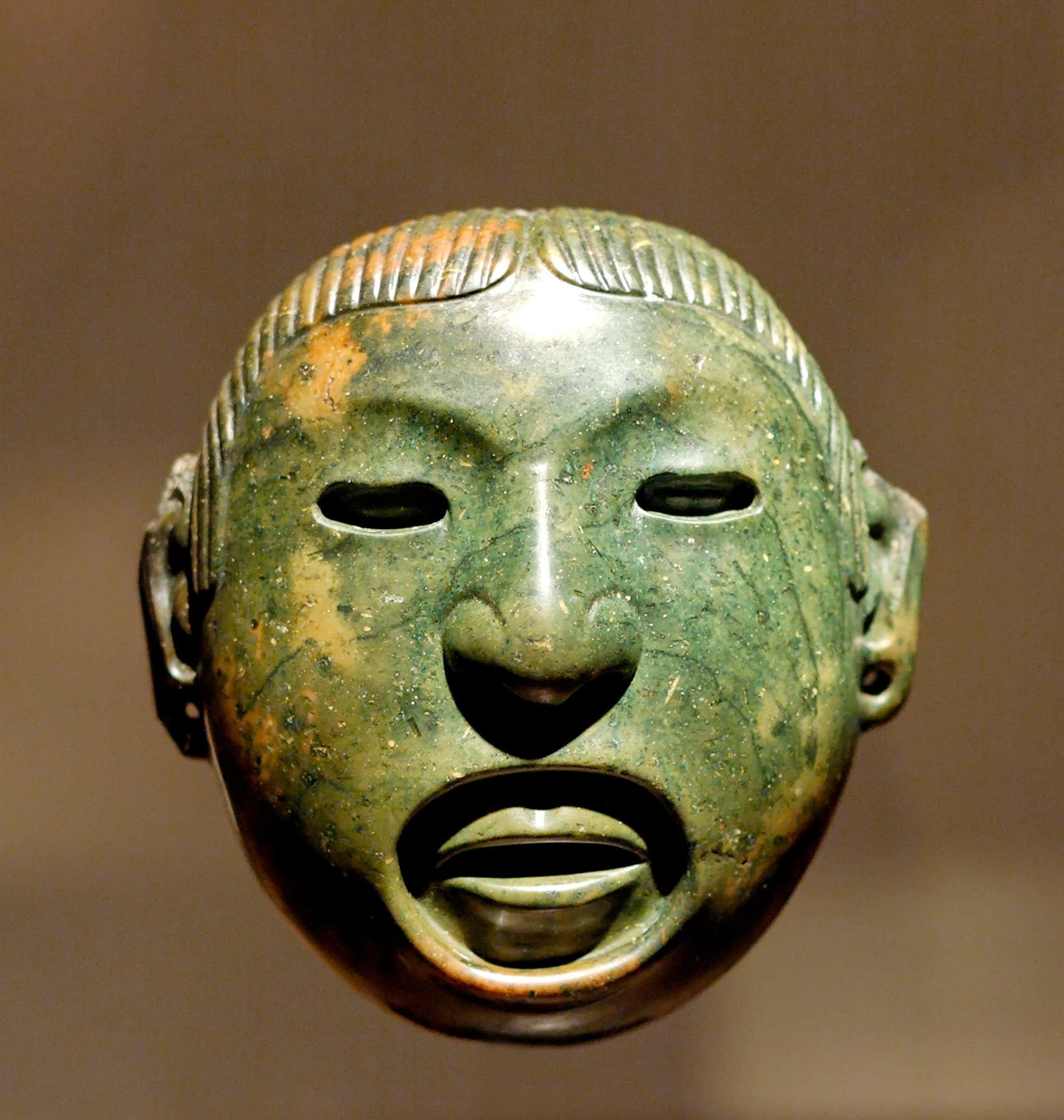 The Blue Jade Mask