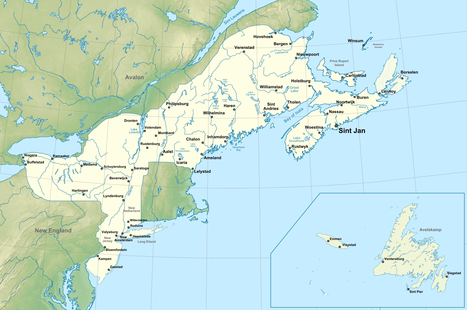 Borealia (Principia Moderni IV Map Game)