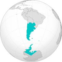 Localización de Argentina