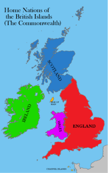 Location Wales