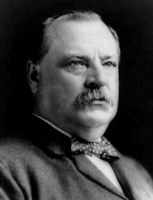 Grover Cleveland (Red, White, and Red)