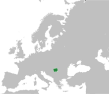 Location of Banat Republic
