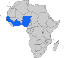 Location of West African Union